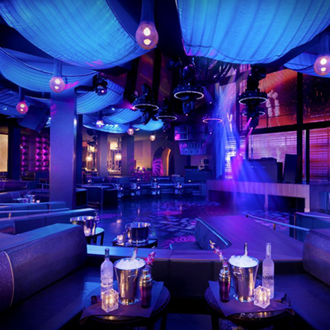 Marquee club Las Vegas VIP Access provided by Entourage Entertainment