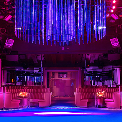 Intrigue Night Club Las Vegas VIP Access provided by Entourage Entertainment