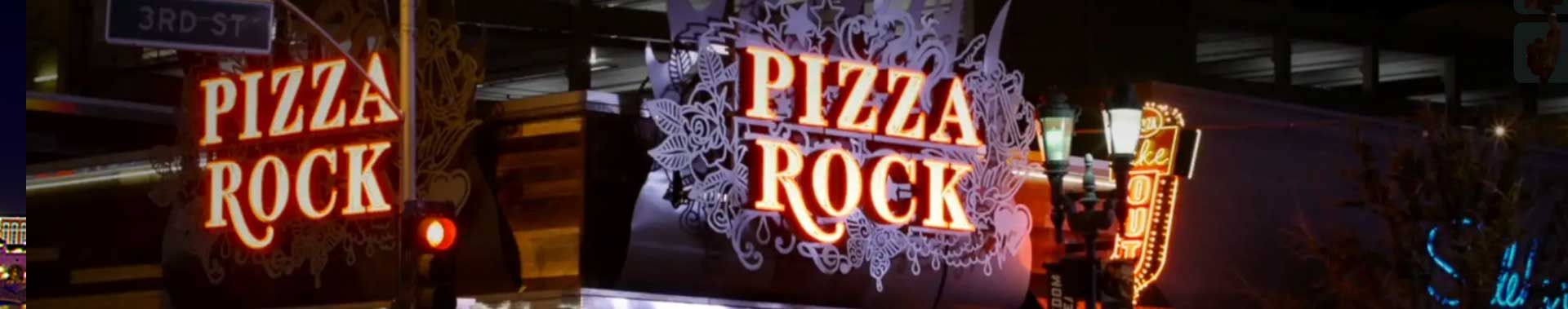 Pizza Rock Las Vegas Banner