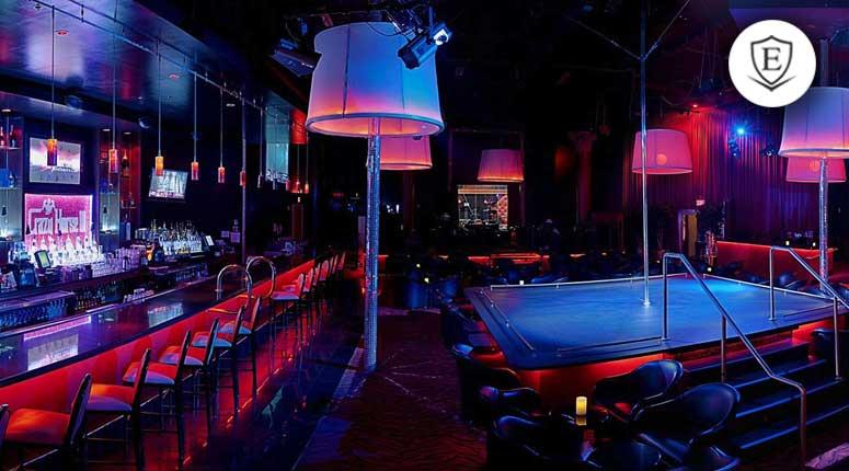 Crazy strip club